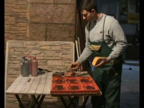 Свой бизнес: производство камня из гипса