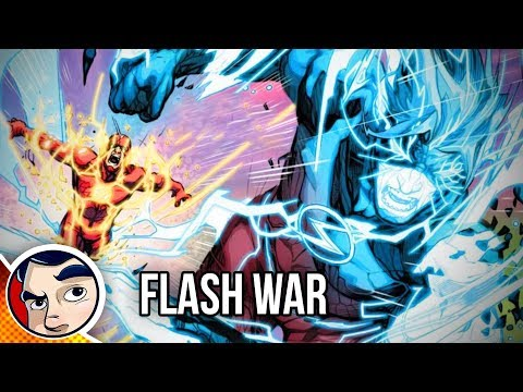 Flash War The End of The Flash! - Rebirth Complete Story
