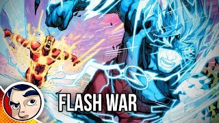 "Flash War ""The End of The Flash!"" - Rebirth Complete Story"