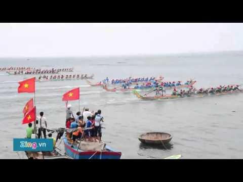Đua thuyền mừng đón mùa xuân mới ở đảo Lý Sơn – Xã Hội