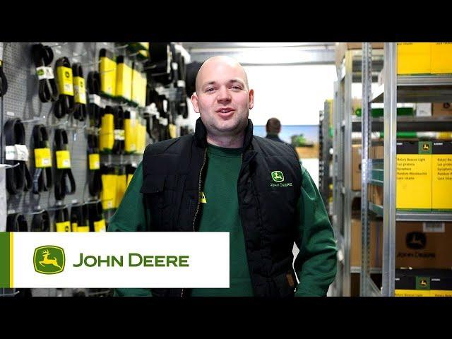 John Deere - Expertise logistique - Remplacement démarreur