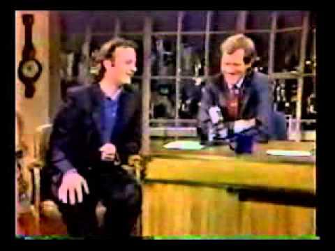 Bill Murray interview - The Razor's Edge (Letterman)