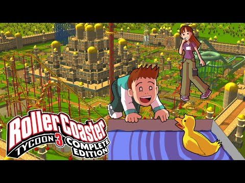Roller Coaster Tycoon 3 Complete Edition - Go with the Flow Playthrough (1080p 60fps) |