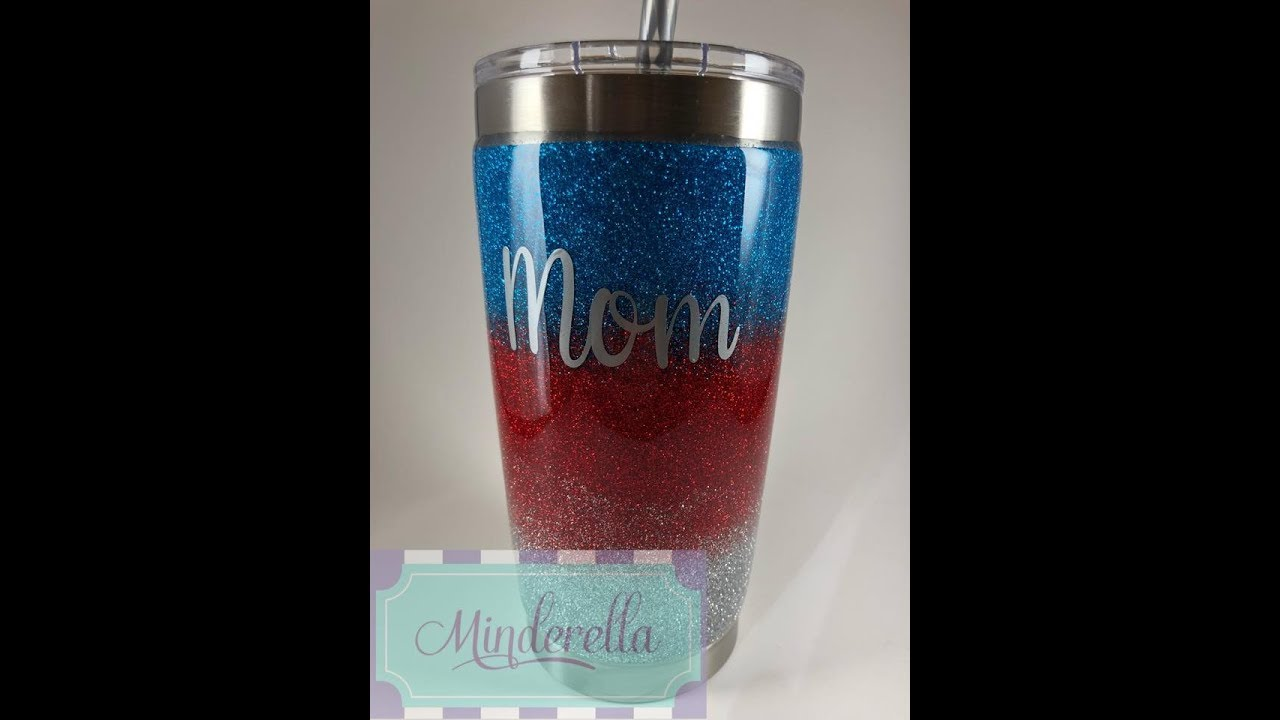DIY: How to multicolor ombre a tumbler