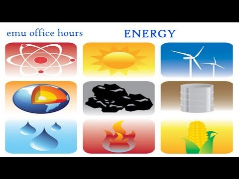office hours 26 - Ways to save energy