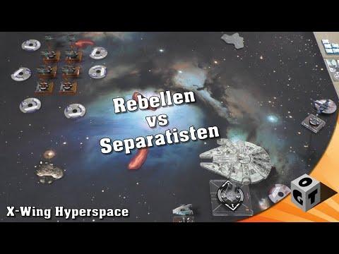 [DE] X-Wing Hyperspace - Rebellen vs Separatisten