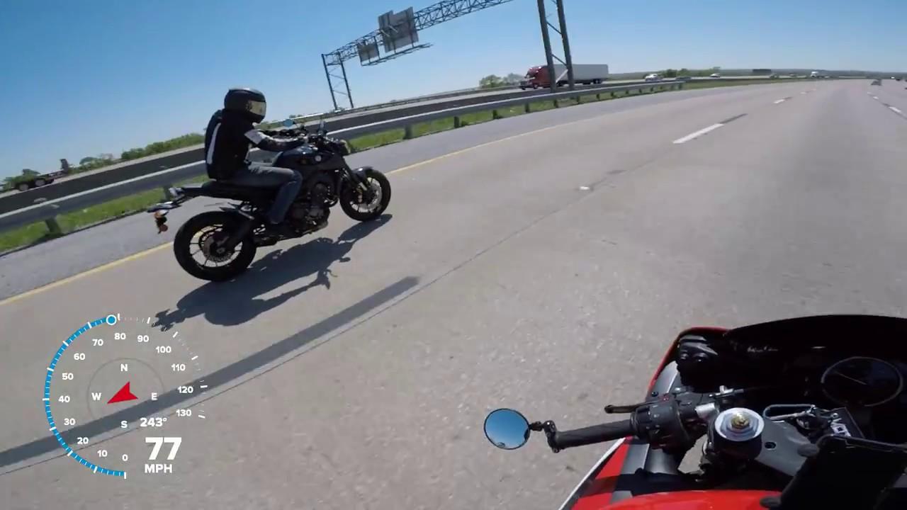 Death Wobbles At 115 Mph Yamaha R6