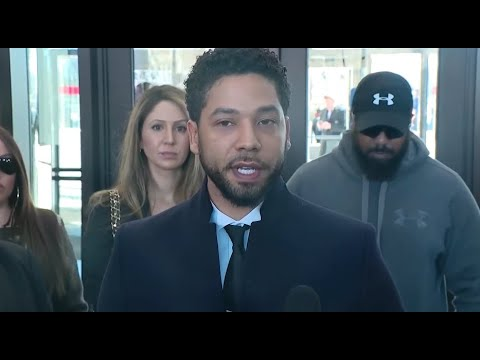 Watch live: Actor Jussie Smollett, lawyers speak after charges are dropped