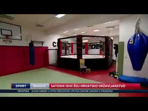 Satoshi Ishii - I wanna be a Croatian citizen