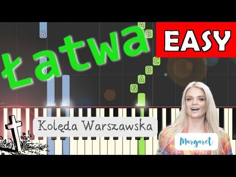 🎹 Kolęda Warszawska (Margaret) - Piano Tutorial (łatwa wersja) 🎹