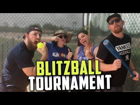 BLITZBALL WIFFLE BALL TOURNAMENT! COUPLE vs. COUPLE!