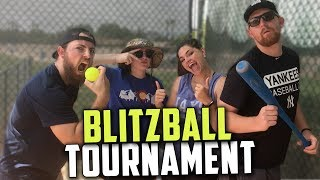 BLITZBALL WIFFLE BALL TOURNAMENT! COUPLE vs. COUPLE!