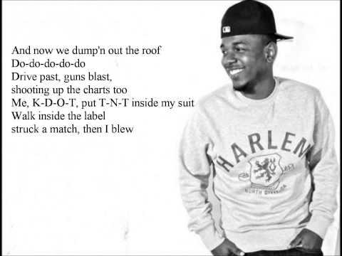 Kendrick Lamar - The Jig is Up Lyrics Video (Prod. J. Cole