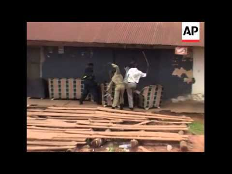 Deadly riots erupt in Ugandan capital for 2nd day