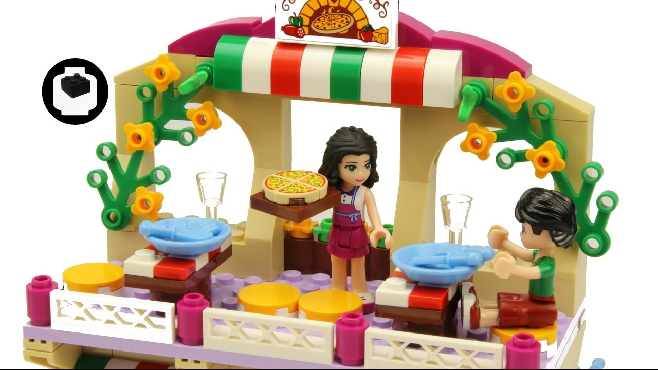 Lego Friends 41311 Heartlake Pizzeria Motion Capture Build