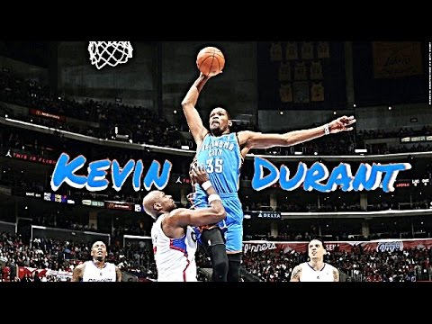 Kevin Durant Top 10 Plays Of Career