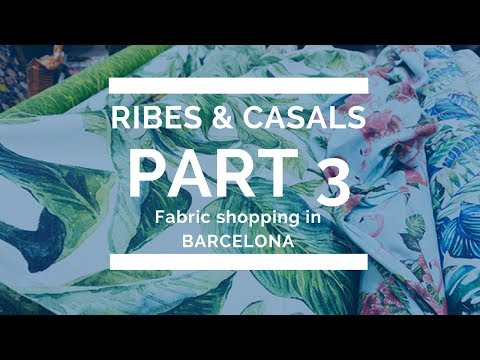 SEXISM in Ribes & Casals + overall experience ✁ FABRIC SHOPPING IN BARCELONA