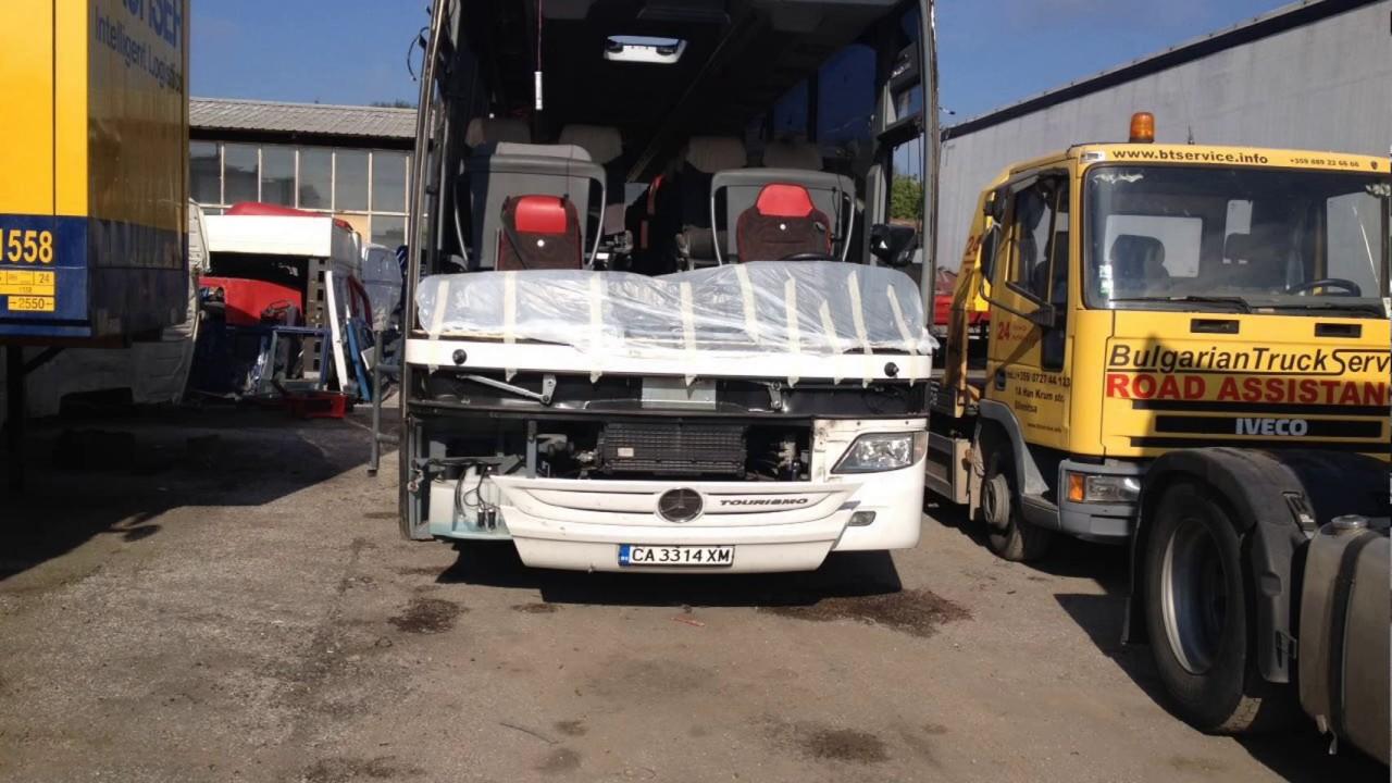 Ремонт автобуса. Mercedes Tourismo RHD 2015 г. BUS Servise