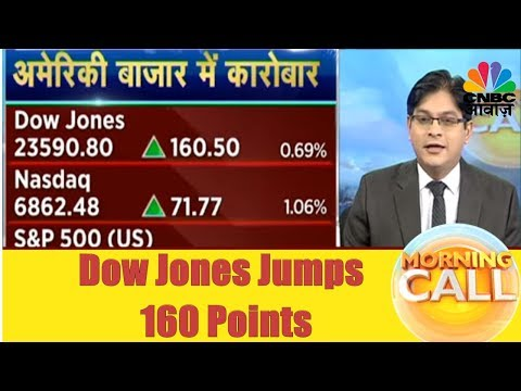 Dow Jones Jumps 160 Points | Business News Today | 22nd Nov