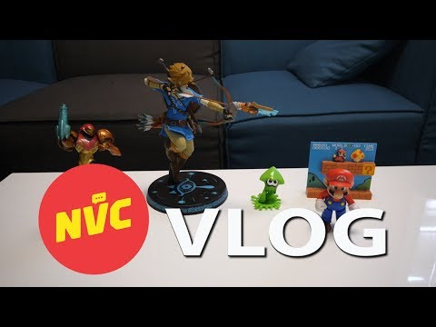 BRIAN'S FAVORITE NINTENDO TOYS! - Nintendo Voice Chat Vlog Ep. 16