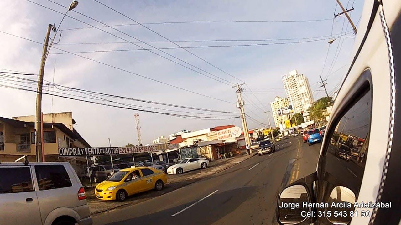 Av 12 de Octubre Panama - YouTube