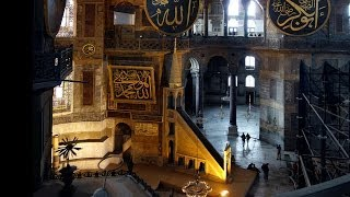 Hagia Sophia as a mosque