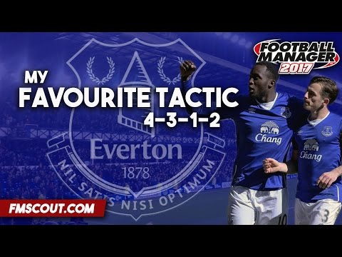 My Favourite Tactic - 4-3-1-2 - Football Manager 2017