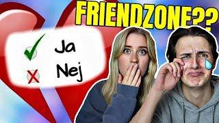 ER VI I FRIENDZONE?! | Test dig selv M. Josefine Simone