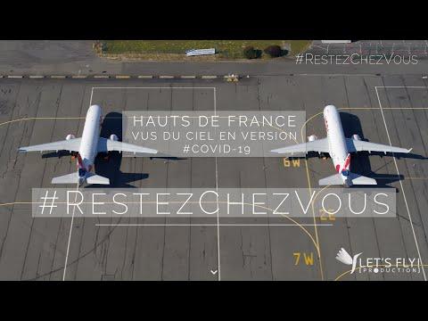Hauts De France Vue Du Ciel En Version #Covid 19 #RestezChezVous