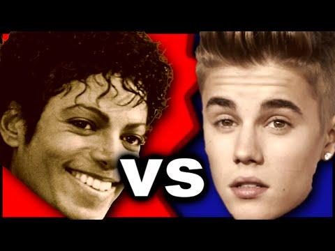 Michael Jackson vs Justin Bieber: 1980's Music vs Present