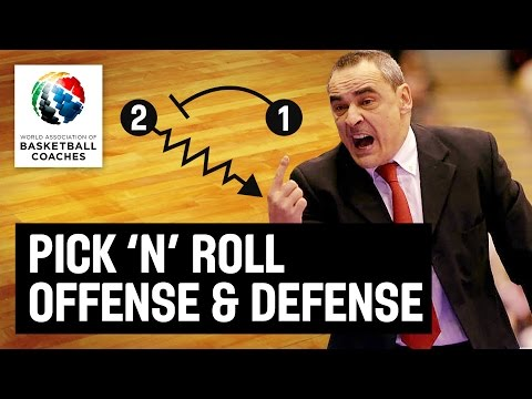 Pick 'n' Roll Offense And Defense - Alfred Julbe And Ricard Casas - Basketball Fundamentals