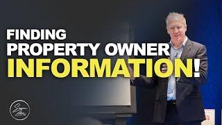 Finding Property Owner Information | Simon Zutshi