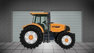 Tractor | Agricultural Machinery - Fairy Tractors | Bajki Traktory i inne Animacje
