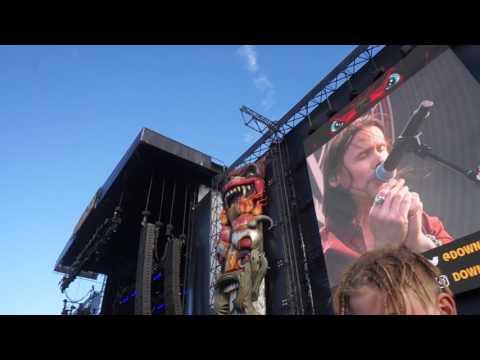 Alter Bridge - Blackbird Intro @ Download 2017 UK
