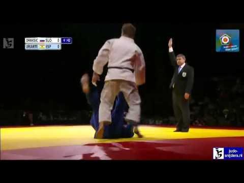 Judo 2012 Tyumen ECCO Hero Challenge: Draksic (SLO) - Uriarte (ESP) final
