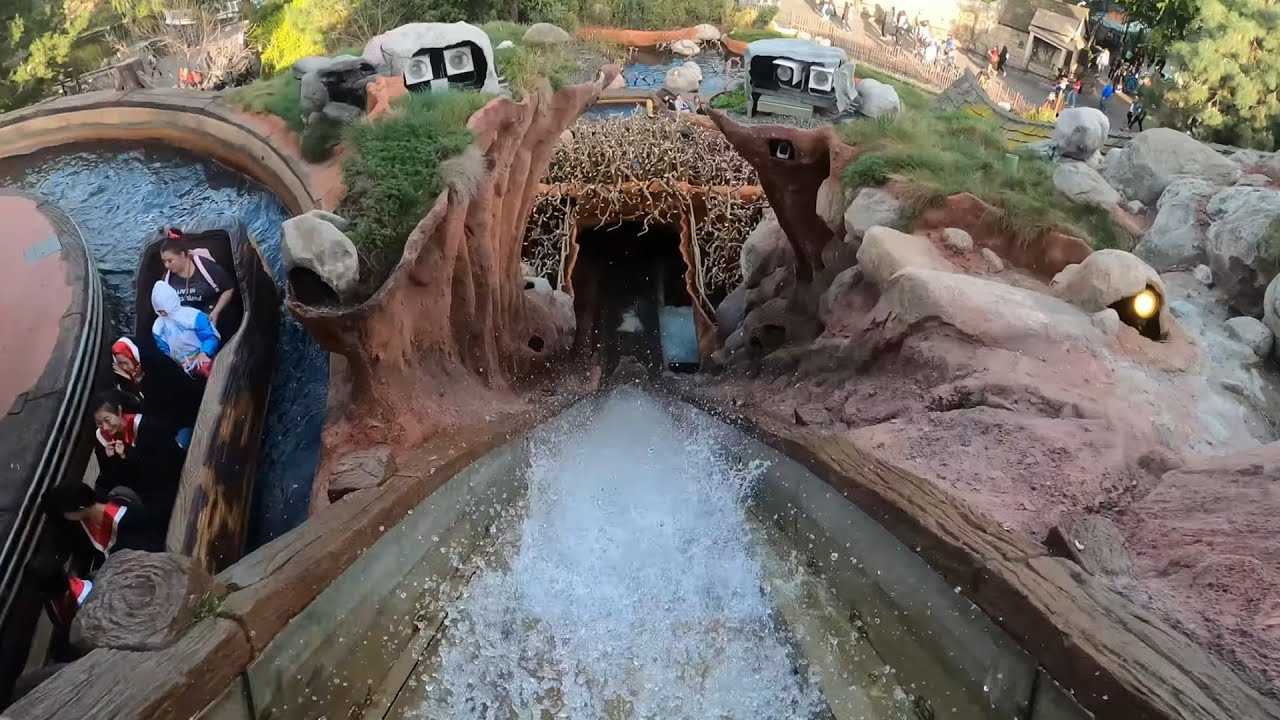 Plan your fun by checking out what's open and what's being renovated. Splash Mountain 4k Front Seat Pov Disneyland Park California Youtube