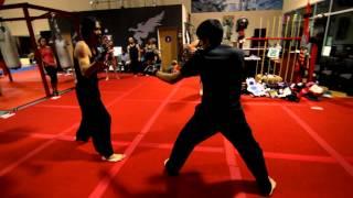 Kung Fu Sparring - Francis Vs. Caleb