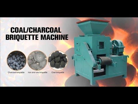 Coal or Charcoal ball press machine