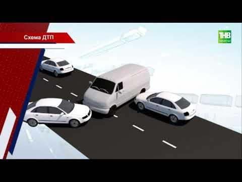 Один человек погиб и 15 пострадали в результате ДТП на трассе Заинск - Набережные Челны