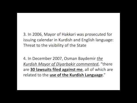 06: Deniz Arbet Nejbir, 'The Use of the Kurdish Language before the Public Authorities'