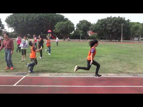 2016年12月1日嘉義縣鹿草國小校內運動競賽-跳繩接力高年級組