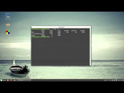Linux ram check