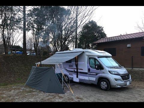 【車中泊】キャンピングカーでオートキャンプ/かずさオートキャンプ場