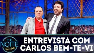 Entrevista com Carlos Bem-Te-Vi, a voz do SBT | The Noite (13/09/18)