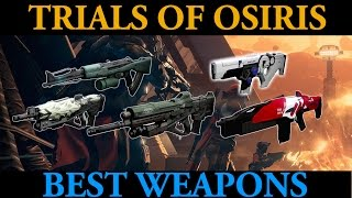 Best Weapons for Trials of Osiris (Destiny Elimination Gameplay)