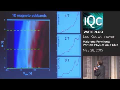 Majorana Fermions: Particle Physics on a Chip- Leo Kowenhoven - May 28 2015