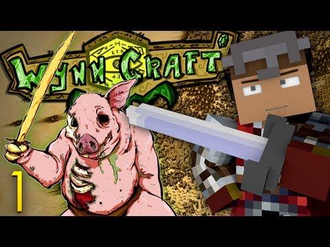 Minecraft RPG: WynnCraft! PIGMEN AMBUSH! (Minecraft MMO RPG Server)
