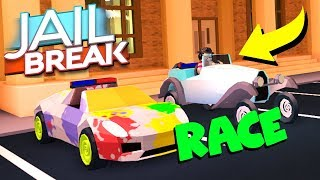 NEW CLASSIC CAR RACE VS LEVEL 5 LAMBORGHINI!! (Roblox Jailbreak)