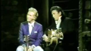 Johnny Cash & Marty Robbins - Chating & Singing