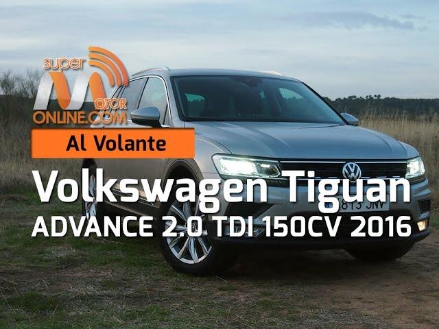 Volkswagen Tiguan 2016 / Al volante / Prueba dinámica / Review / Supermotoronline.com